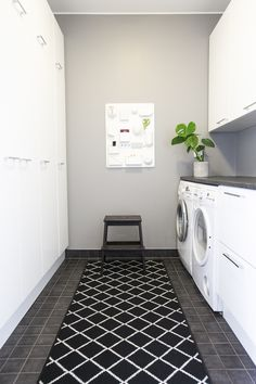 Laundry Room Organization, Laundry Room Design, Modern Laundry Rooms, Home Board, Sauna, Bathroom Inspiration, Bathroom Ideas, White Rooms, Minimalist Home