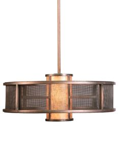 Option for central ceiling fixture. Available in other finishes and sizes.