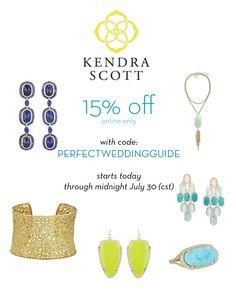 Kendra Scott - Discount offer