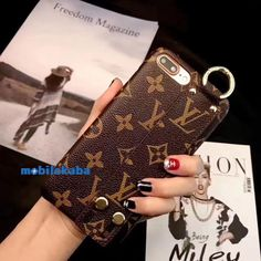 Louis Vuitton Monogram Wrist Phone Case For iPhone 8 Plus iPhone - - Louis Vuitton Monogram Wrist Phone Case For iPhone 8 Plus iPhone 6 7 8 Plus Xr X Xs Max - The Louis Vuitton Case is High Quality Guarantee - Please select model and color to buy Iphone 7 Plus, Iphone 8, Iphone Phone Cases, Iphone Skins, Girl Phone Cases, Cell Phone Covers, Cute Phone Cases, Iphone Seven, Louis Vuitton Phone Case