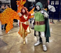 Wizard World Austin Comic Con 2014 - 6 of 24 - Photos - The Austin Chronicle: Dark Phoenix and Doctor Doom conquer the main hall