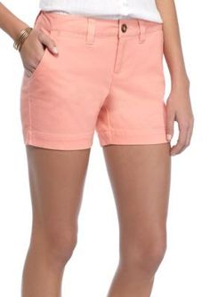Red Camel Coral Glow Twill Core Shorts