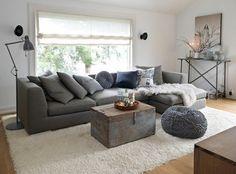Wohnzimmer Einrichten Dekorieren Decke Weisser Teppich