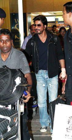 Mumbai airport, return from Abu Dhabi May 2014