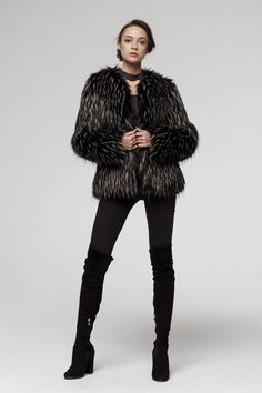 High Quality Here. Short Faux Fur Jacket, Fake Fur, Fur Coat, Winter Jackets, Collection, Fashion, Winter Coats, Moda, Winter Vest Outfits