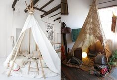 lovely DIY Backyard Tipi part II and behind the scenes video