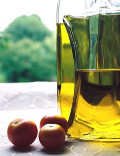 Olive Oil: Eye Make-Up Remover    Keep a small jar in your medicine cabinet.  Dab a little onto a damp cotton ball and watch your eye makeup melt right off.  It also moisturizes the delicate skin around your eyes and nourishes your lashes.  And it doesn't sting.