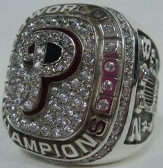 2008 Philadelphia Phillies Ring