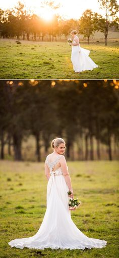Spicers Hidden Vale Country Wedding Photographer Anna Campbell Dress Ben & Hope Photography www.benandhopeweddings.com.au