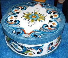 traditional Norwegian decorative painting