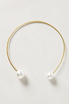 Double Pearl Necklace - anthropologie.com