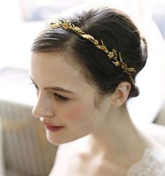 Delicate Laurel Leaf Bandeaux - Headband