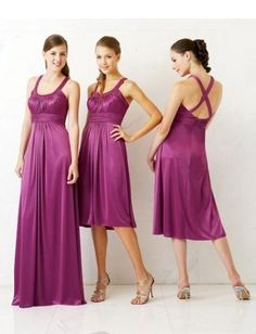 bridesmaid dress, comes in different colors