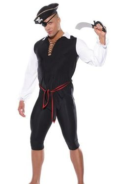 998fa91691 Mens Pirate Costume at girlfriendslingerie.com Amazing Halloween Costumes