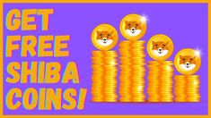 Get Free Shiba Inu Coins (72,000 Coins!) Hottest Crypto Out Right Now! |... Make Money From Home, Way To Make Money, Make Money Online, Right Now, Shiba Inu, Making Ideas, Coins, The Creator, Learning