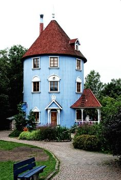 The places to visit - Moomin land
