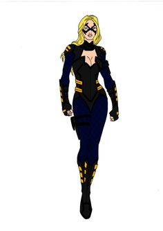 My redesign of Black Canary for my version of JLA Year One! Black Canary has always been my favorite superheroine! I at first had her suit black and yel. JLA Year One~Black Canary Superhero Suits, Superhero Design, Super Hero Outfits, Super Hero Costumes, Comic Book Characters, Comic Character, Dc Comics Games, First Superman, Arrow Black Canary