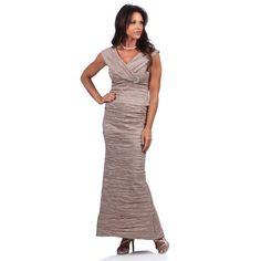 Alex Evenings Stretch Taffea 2 Piece Dress | Overstock.com