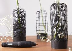 Technology company WobbleWorks has launched an updated edition of its hugely popular 3Doodler pen, which can now draw using materials like copper and wood composites