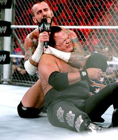 CM Punk takes out Jerry Lawler..........PISSED ME OFF!