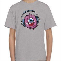 Camiseta infantil Bola de pelo Rosa