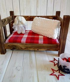 Check out this item in my Etsy shop https://www.etsy.com/listing/575009437/wooden-newborn-prop-bed-photography-prop
