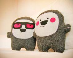 Bambak, adorable pink cheeks stuffie