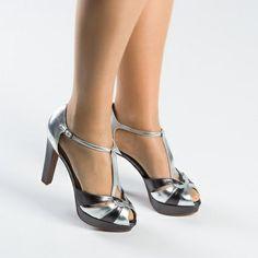 #sandalia Amberes en #plata. #sandal #silver de @Sacha London . .