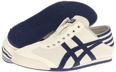 Onitsuka Tiger by Asics - Mexico 66 Paraty (Natural/Navy) - Footwear on shopstyle.com