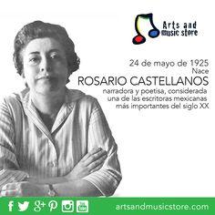 25 de mayo de 1925, nace en la Ciudad de México la poetisa Rosario Castellanos.