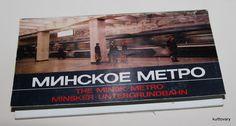 1985  vintage Soviet Russia MINSK METRO Russian Book   Underground