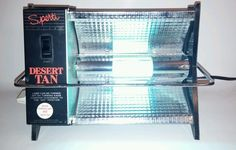 Vintage Sperti Sun Lamp Desert Tan Health Beauty Portable #sperti