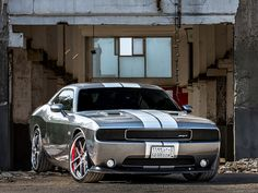 2011 Dodge Challenger SRT8 w/ Blacked Out HeadLights. Awesome American Musclecar!