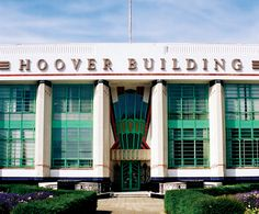 The Hoover Building, designed by Wallis, Gilbert and Partners in 1932.