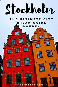 Stockholm ultimate travel guide - Stockholm, the capital of Sweden is also the c. Backpacking Europe, Europe Travel Guide, Europe Destinations, Travel Guides, Stockholm City, Stockholm Sweden, Stockholm Travel, Sweden Travel, Sweden Europe