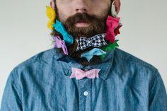 WILL IT BEARD : Beard and Bows   via Tumblr #fashion,  boys