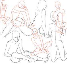 sitting poses - Pesquisa Google