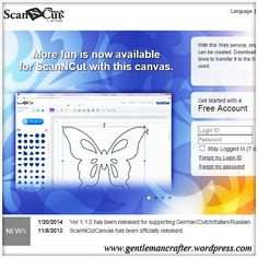 Scan It Saturday - Scan N Cut Canvas Design Suite - how to use hints