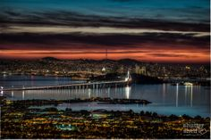 View of San Francisco from the Berkeley Hills