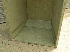 pieza a 45 grados Subwoofer Box Design, Speaker Box Design, Speaker Plans, Box Building, Diy Speakers, Home Decor, Loudspeaker, Klipsch Speakers, Log Projects
