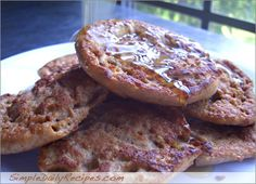 English Muffins Turned Into French Toast - would be great with Cinnamon Raisin English Muffins