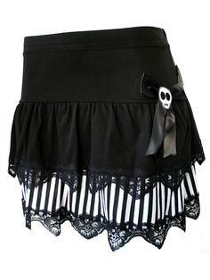 """Women's """"Mixed Layer"""" Skirt by Jessica Louise (Black) - I could make something like this for Holly"""