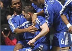 Frank Lampard, after taking a penalty and scoring one day after the loss of his mother.