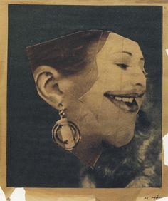 Hannah Höch, Fröhliche Dame, 1923 •