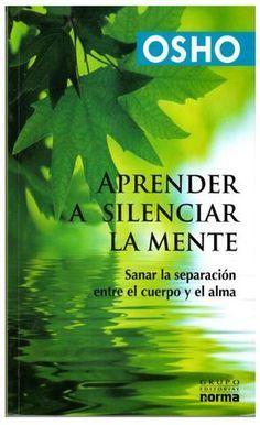 """Cover of """"Aprender a silenciar la mente"""""""