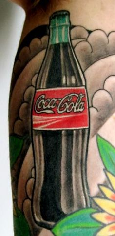 1000 images about tattoos coca cola on pinterest coca cola tattoos and body art and brooklyn. Black Bedroom Furniture Sets. Home Design Ideas