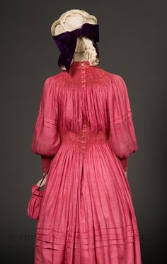 Day dress  Attributed to Liberty & Company, London  c.1893-97