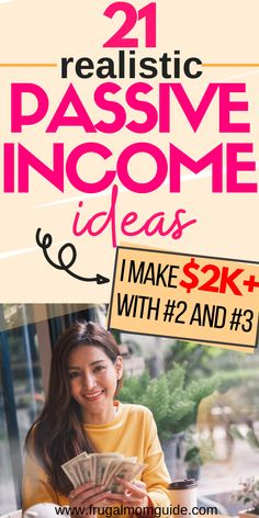 How does making money while you sleep sound? That's what makes passive income so great! You get to make money in a 'set it and forget it kinda way'. These 21 passive income ideas are a must read. There's something for every need and every schedule. passiv Earn Money Online, Make Money Blogging, Money Tips, Money Plan, Passive Income Streams, Creating Passive Income, Streams Of Income, Making Extra Cash, Quitting Your Job