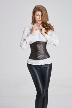 Cheap lingerie sexy, Buy Quality lingerie pvc directly from China lingerie basque Suppliers: Leather corset waist trainer hot shapers bustiers waist train corset corset Sexy Lingerie steampunk corset gothic clothing Corset En Cuir, Corset Noir, Corset Sexy, Underbust Corset, Lingerie Steampunk, Steampunk Corset, Gothic Corset, Body Lingerie, Bodysuit Lingerie