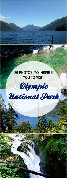 Olympic National Park - 36 photos to inspire you to make it your next summer vacation!